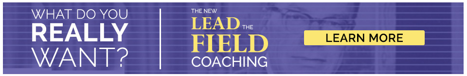The New Lead the Field Coaching Banner